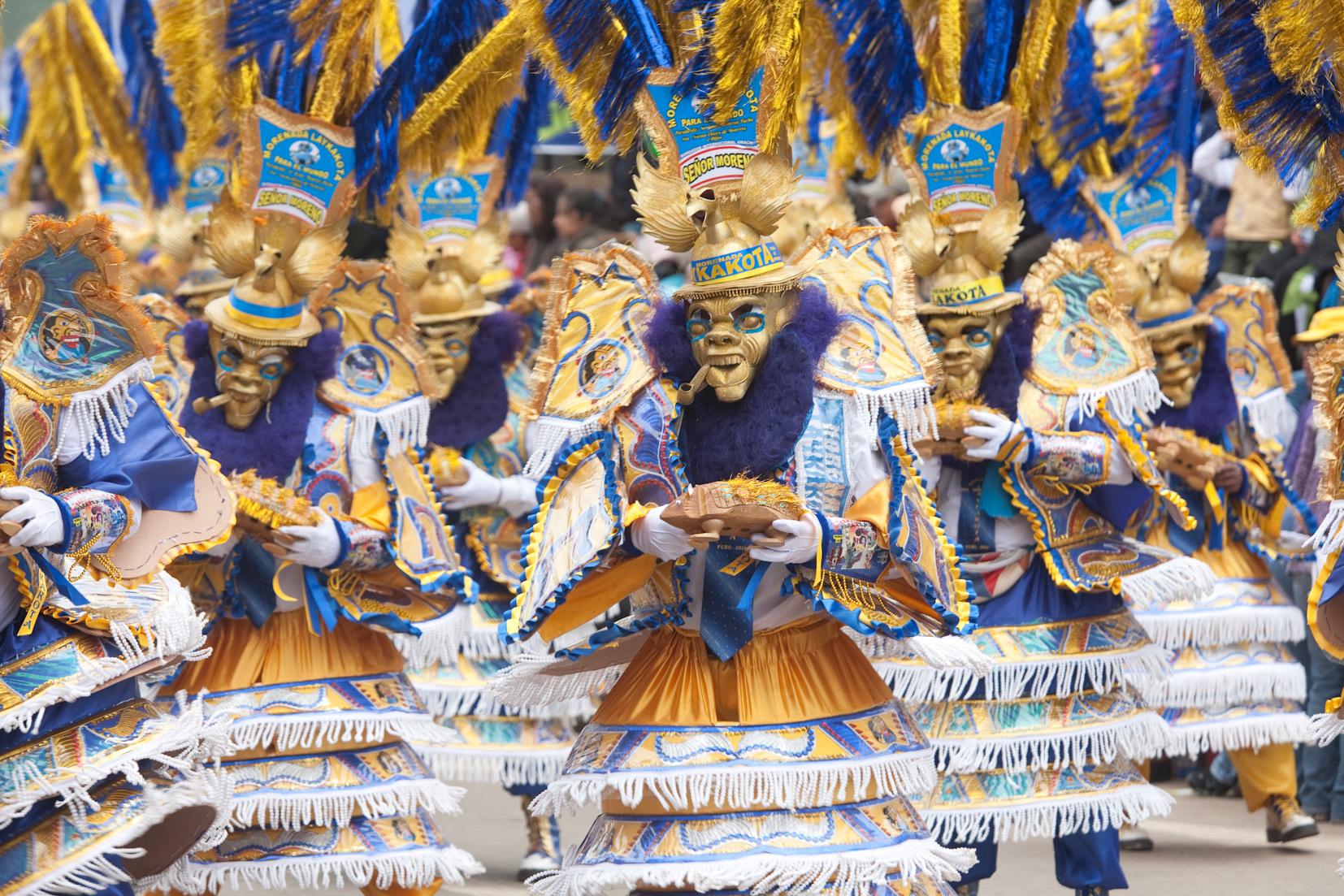 フォルクローレの祭典「カンデラリア祭」(Fiesta de la Candelaria)、2 ...