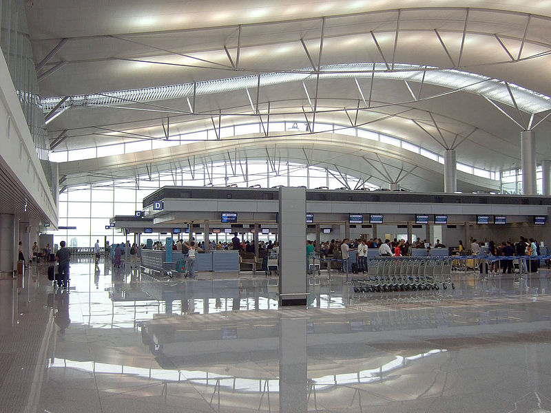 Check-In counter TanSonNhat Airport Vietnam © kounosu